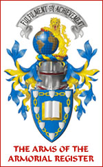 Click here for more information the Arms of The Armorial Register